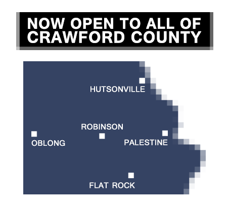 RCLL Crawford County Boundary
